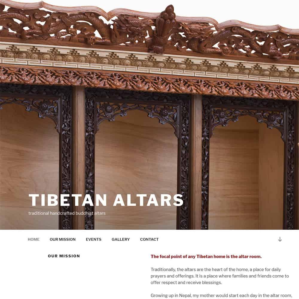 Tibetan Altars