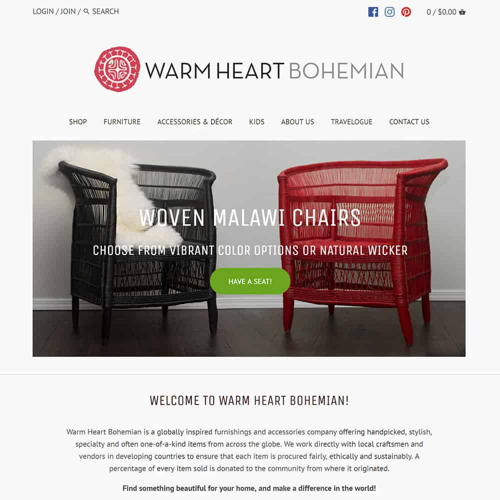 Warm Heart Bohemian