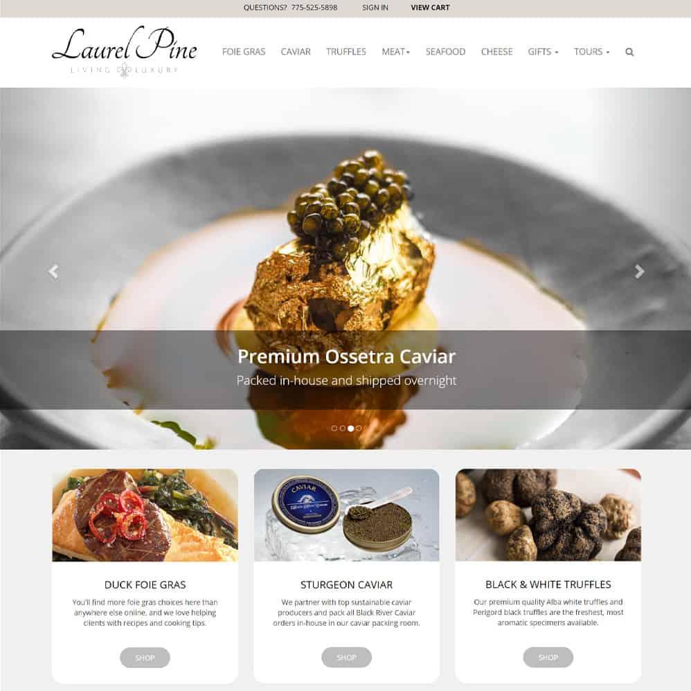 Laurel Pine Living Luxury